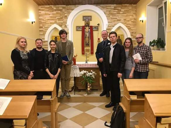 21 April, 2017. Ordinariate support group in Moscow