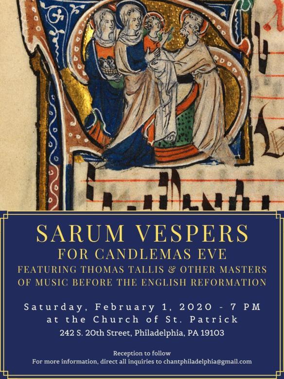 Sarum Vespers